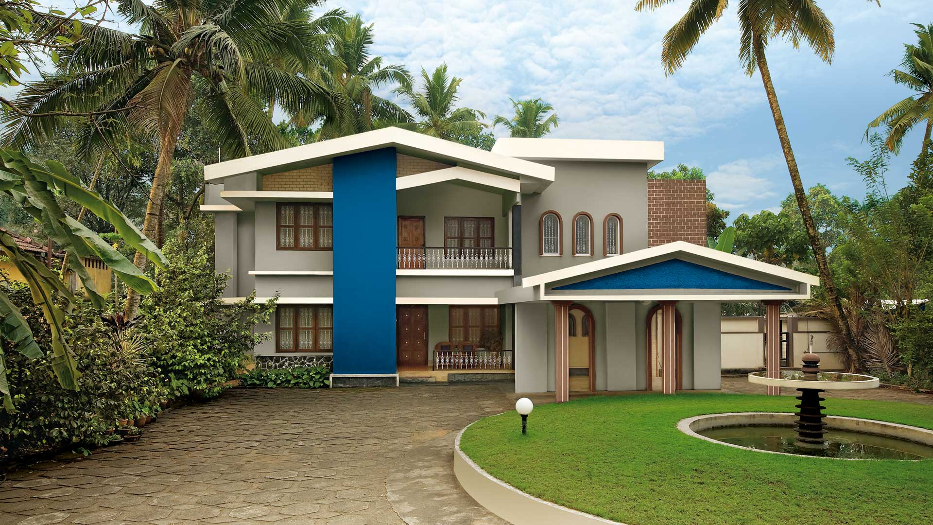 Colour Combination For House Exterior Painting And Get Services Near Your Location By V S Painters