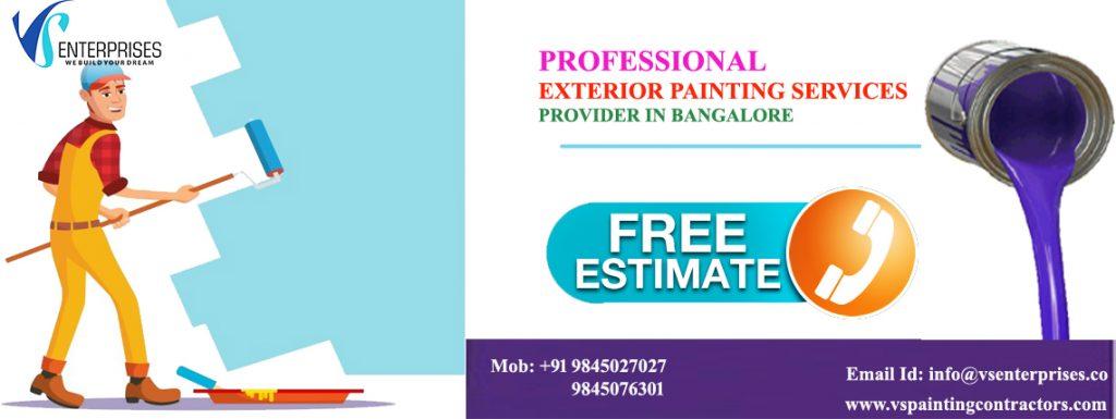 Exterior House Painters Bangalore